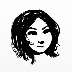 Gloop pen portrait sketch artrage