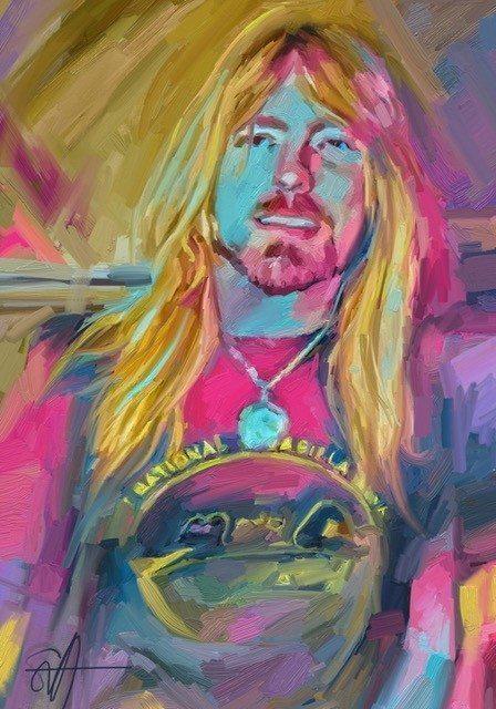 Gregg  ArtRage iPad artist Dean Scott Waters