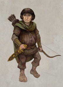 Hobbit by Jon Hodgson ArtRage Artist small