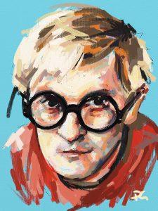 Hockney ArtRage artist Phil Galloway small