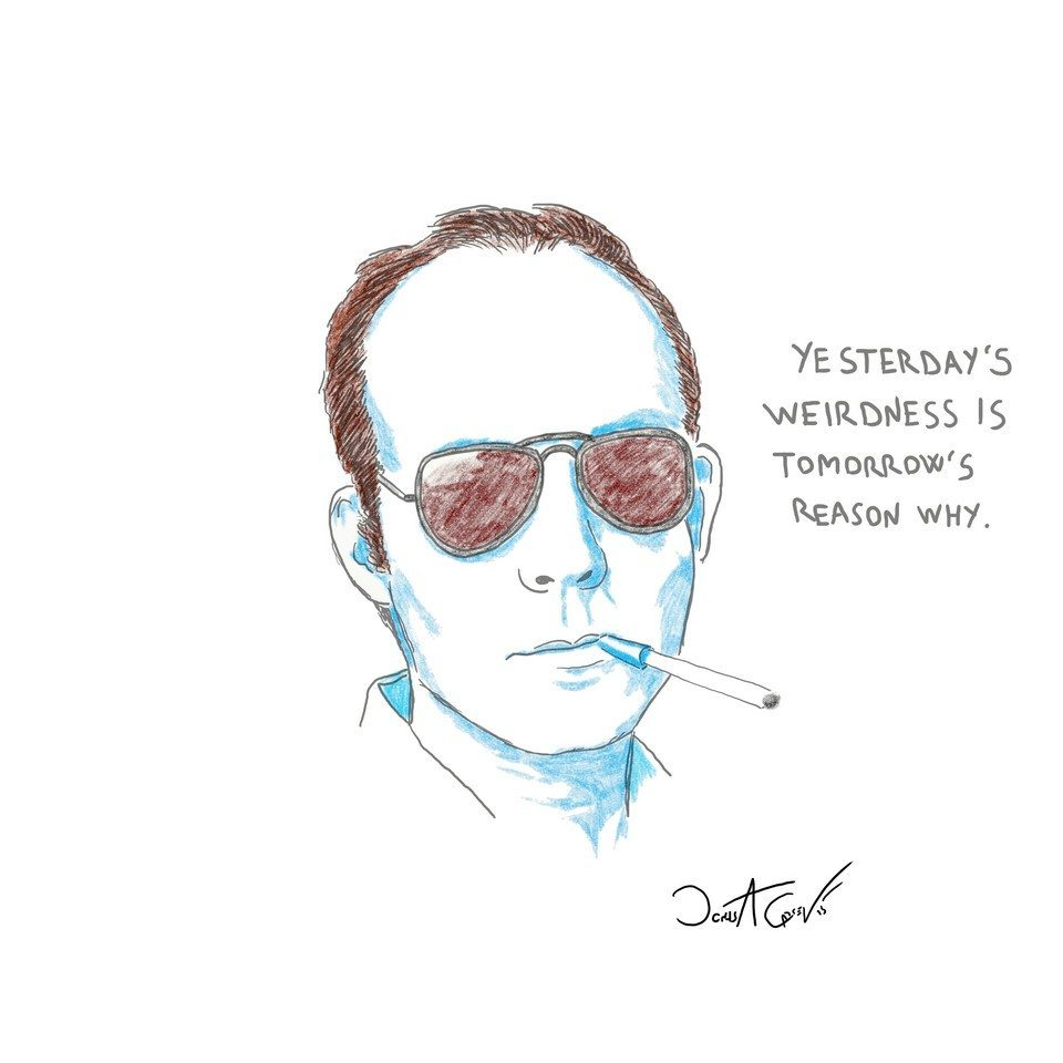 Hunter S. Thompson by Jonas A Larsen