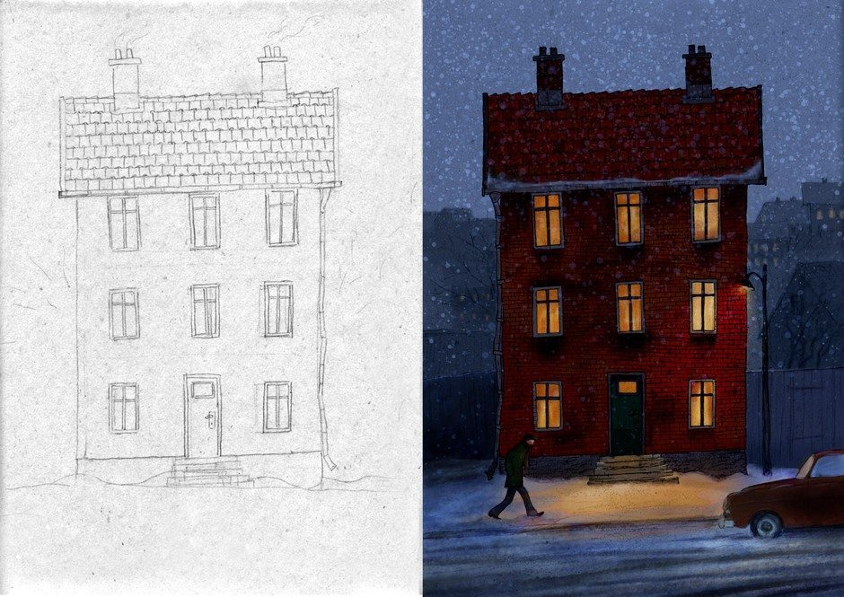 Huset3 by Henry Stahle