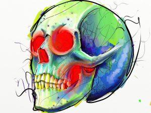 Skull by Fernando Madeira