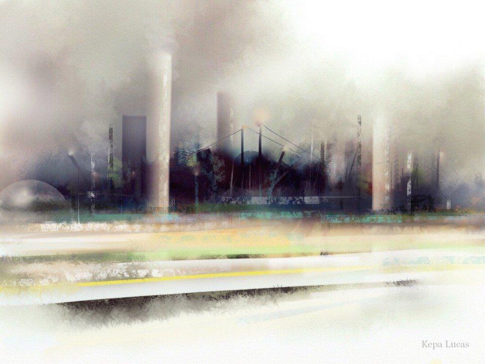 Industrial Area by Kepa Lucas