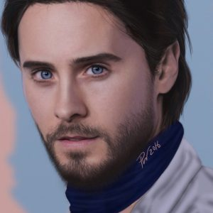 Jared Leto by Paul Hinch-Worman