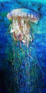 Jellyfish 10x20 Brian Coffey Featured ArtRage Artist