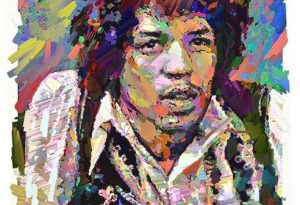 Jimi 3 ArtRage iPad artist Dean Scott Waters