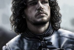 Jon Snow (Final) by Teoman Mete CAKICI