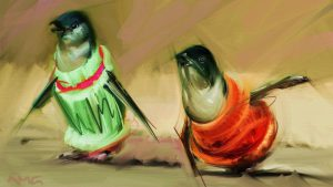 Jumpers (Penguins) by Andrea MG
