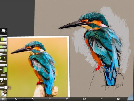 Kingfisher Screenshot 2 by Shelly Hanna