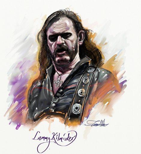 Lemmy Kilmister by Teoman Mete CAKICI