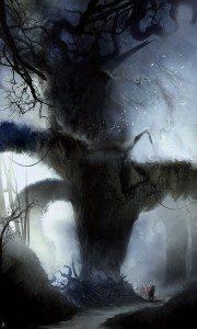 Hunting in the Forbidden Forest by Ignacio de la Calle
