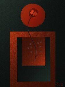 Like a Red, Red Rose by Helene Goldberg