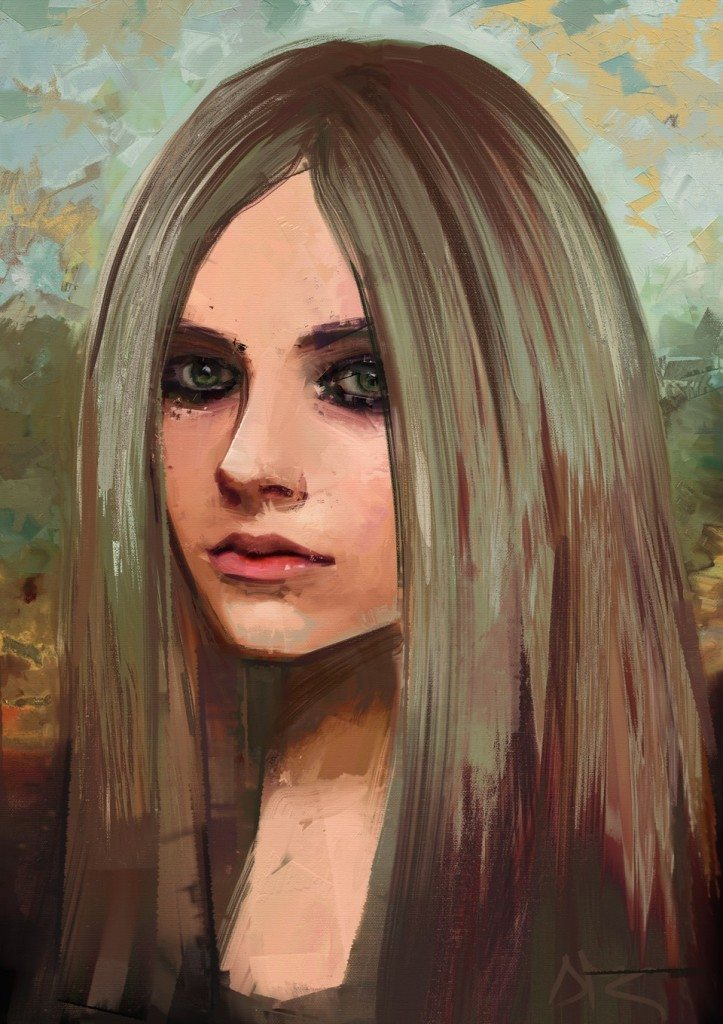 Lisa (Avril Lavigne) by Andrea MG