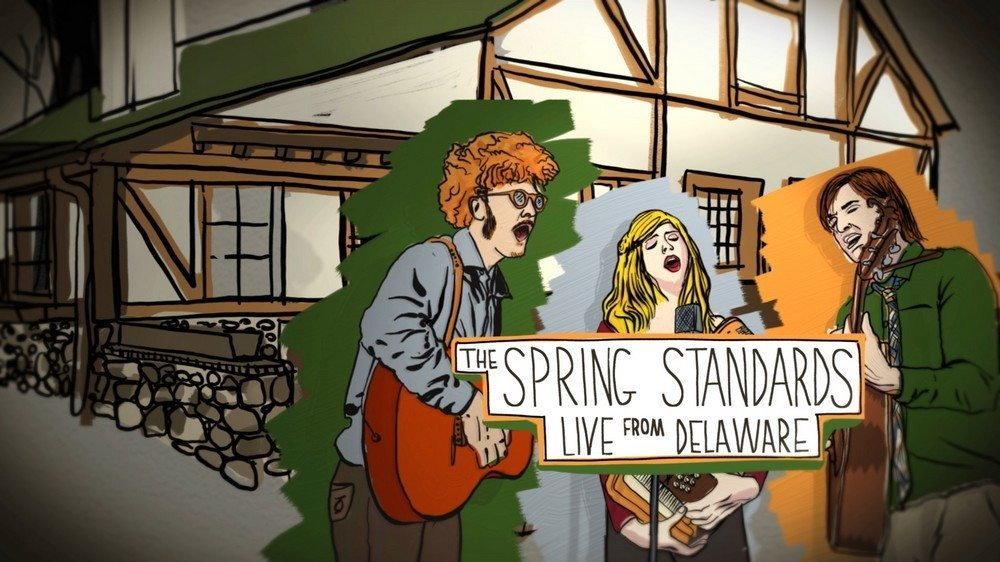 The Spring Standards  Still image from 'Painted Titles  for a Song""