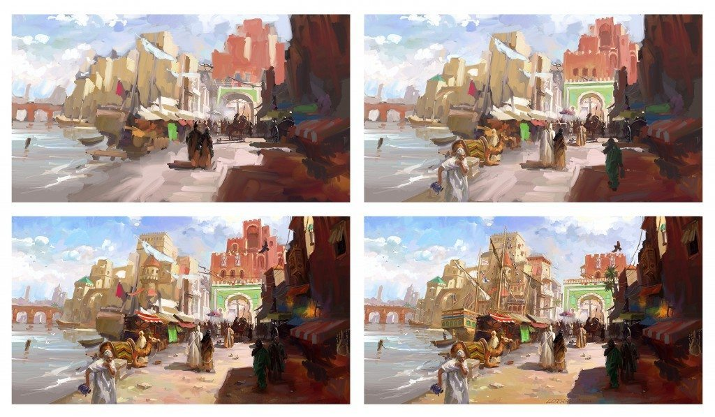 Process of Medieval Port by Lothar Zhou