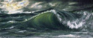 Storm (non-ArtRage iPad work) by Mikhail Karetin