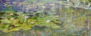 Monet Lilies 16x40 Brian Coffey Featured ArtRage Artist