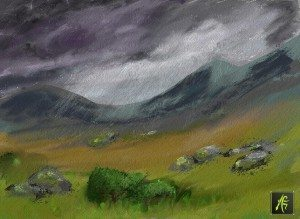 Moorland Rains_001 ArtRage for Android