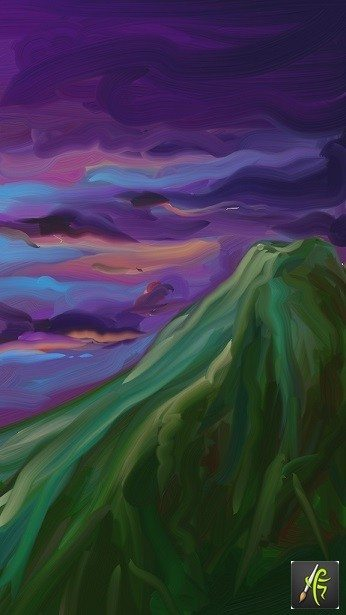 Mountain ArtRage Oil Painter Free Art