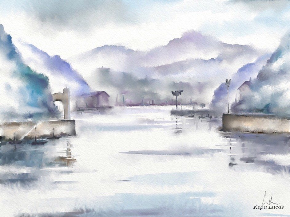 Pasaia Harbor 3 by Kepa Lucas