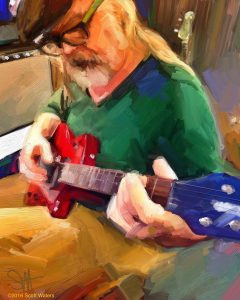 Pat 72 ArtRage iPad artist Dean Scott Waters