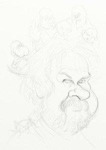 Peter Jackson sketch by Yoann Lori