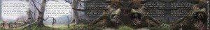 The Ballad of Piggotty Wood Scroll by Sav Scatola