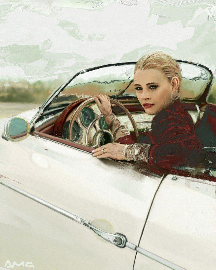 Porsche (Emilie de Ravin) by Andrea MG