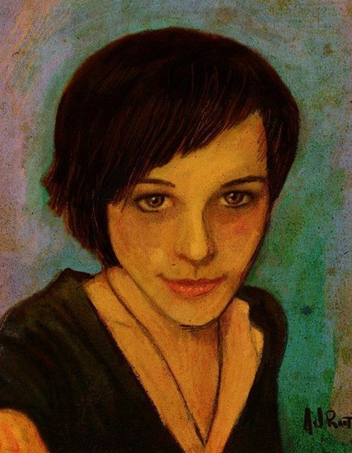 Portrait Little Rose by Albert Root (Screenpainter  GZAirborne)