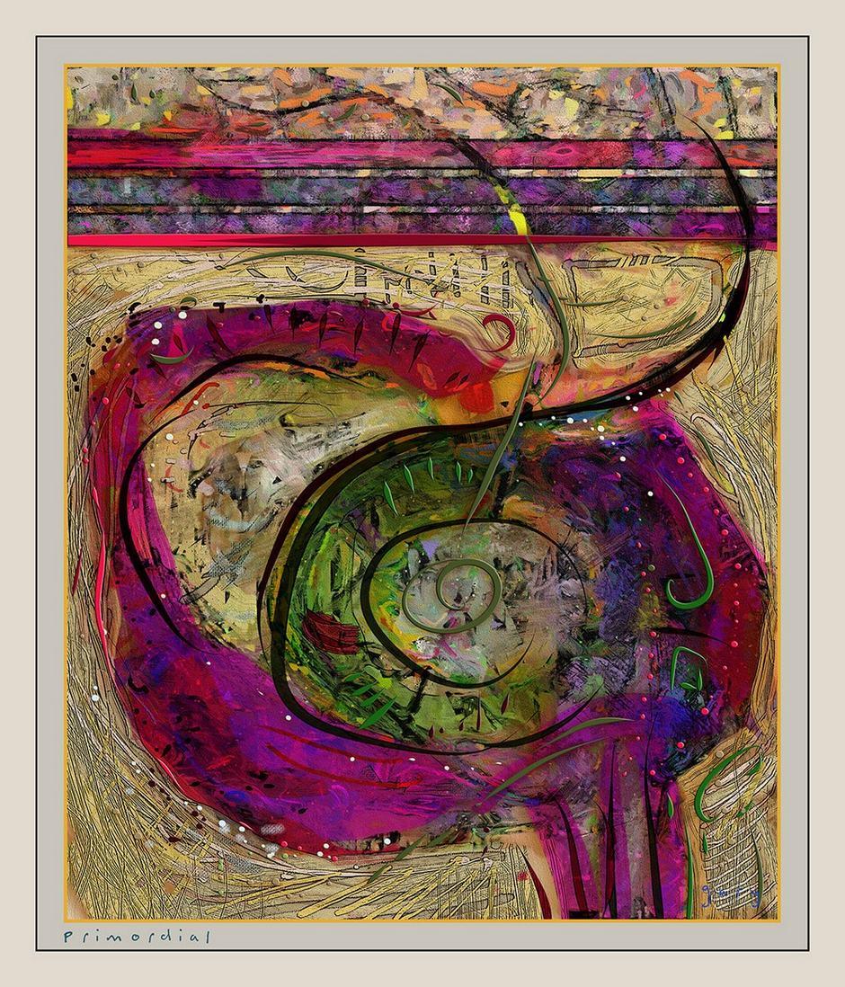 Primordial by Gary Hopkins ArtRage Artist