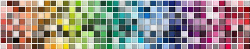 Ramona pastels colours