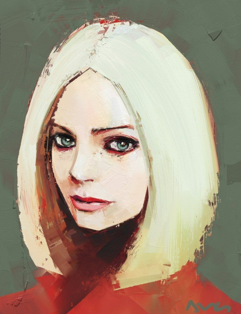 Red jacket (Avril Lavigne) by Andrea MG