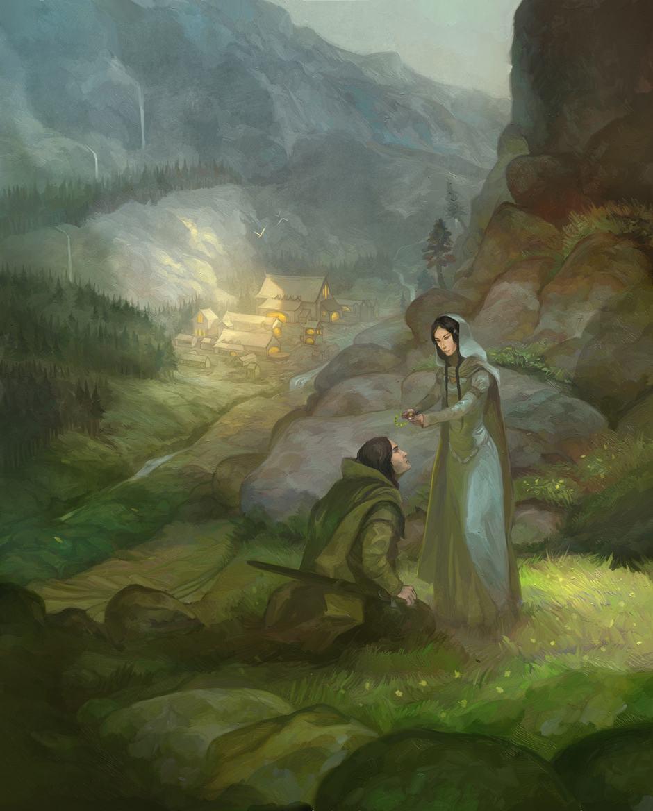 Rivendell Cover by Jon Hodgson ArtRage Artist