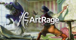 artrage sale art background