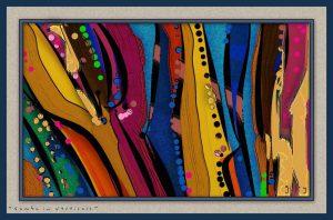 Samba in Verticals by Gary Hopkins ArtRage Artist