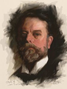 Sargent Study by Shelly Hanna