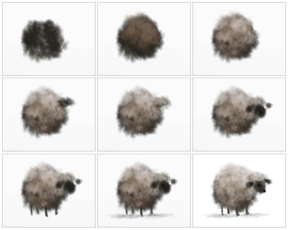SheepSequence ArtRage 5 Custom Brush tutorial by Sav Scatola