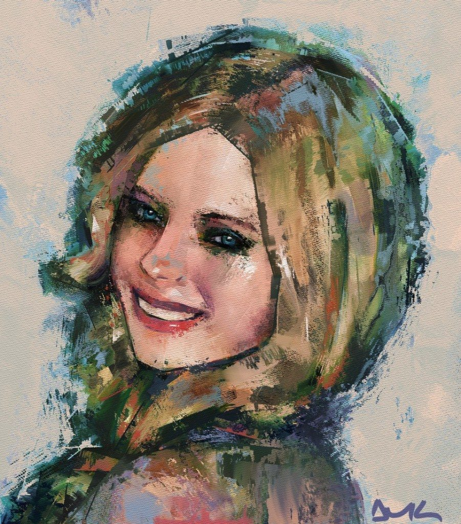 Smile (Avril Lavigne) by Andrea MG