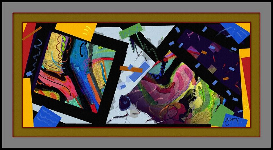 Songs of Praise by Gary Hopkins ArtRage Artist