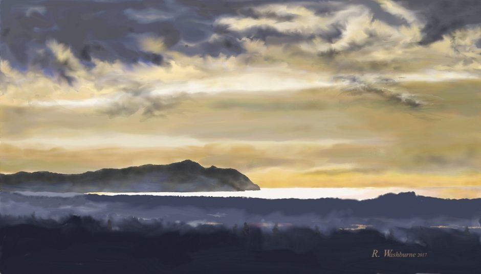 South from Astoria by Randel Washburne