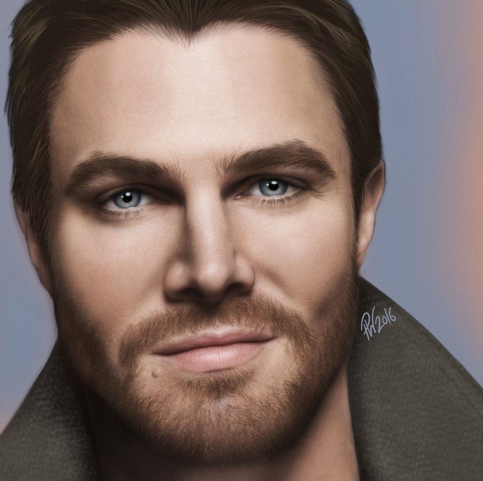 Stephen Amell by Paul Hinch-Worman