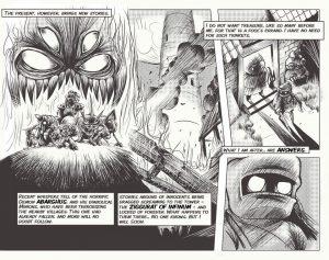 Super House of Dead Ninjas story comic (promotional art, Adult Swim Games) (1) by Jon Davies