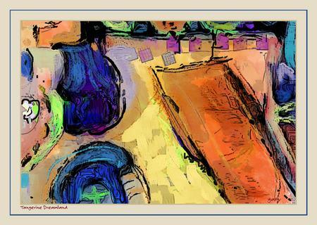 Tangerine DreamLand by Gary Hopkins ArtRage Artist