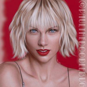 Taylor Swift by Paul Hinch-Worman