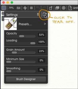 TearOff metallic ArtRage 5 tutorial by Boxy Sav Scatola