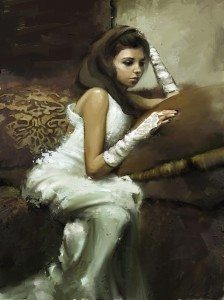 The Demure (Jeremy Mann's Study) by AndreaMG