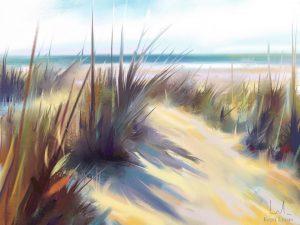 The beach by Kepa Lucas