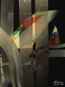 Through a Glass Darkly by Helene Goldberg