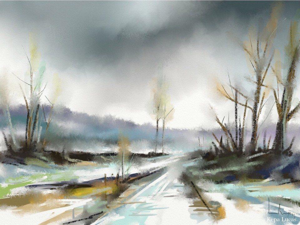 Tribute to Corot 1 by Kepa Lucas